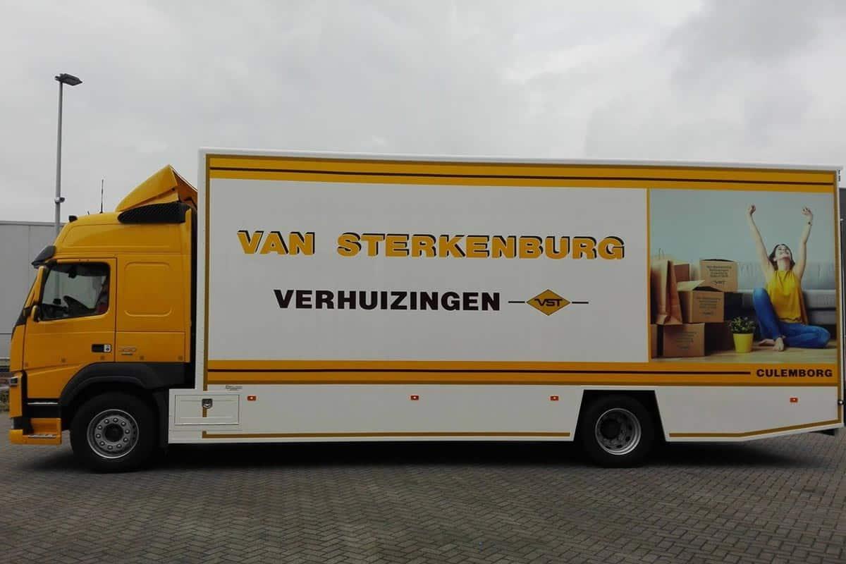 nieuwe verhuiswagen